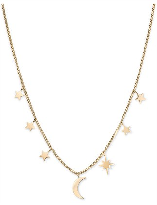 Lois Multi Stars And Moon Necklace