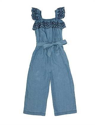 Francesca Brodierie Jumpsuit (Girls 8-16)