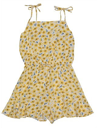 Louise Daisy Playsuit (Girls 8-16)