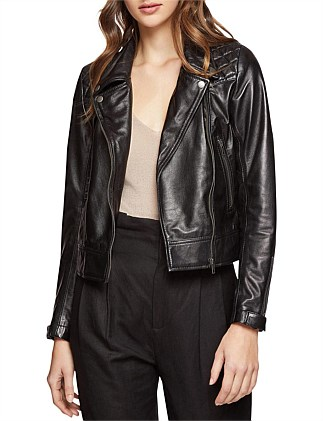 Emma Biker Leather Jacket