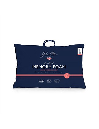 Classic Memory Foam Medium Pillow