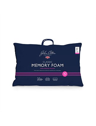 Classic Memory Foam High Pillow