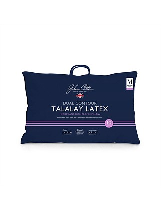 Classic Talalay Latex Dual Contour Pillow
