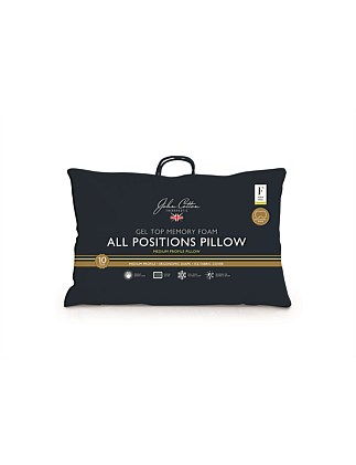 Therapeutic All Positions Memory Foam Pillow