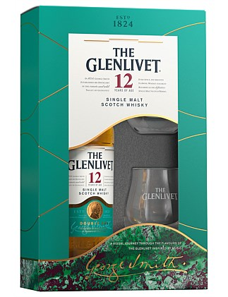 THE GLENLIVET 12YO 700ML TWIN GLASS PACK