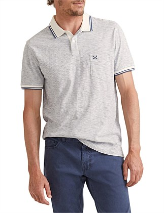 Cameron Stripe Polo