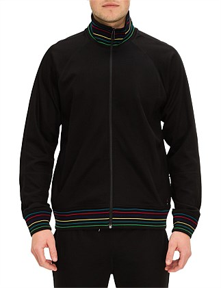 MENS ZIP TRACK TOP