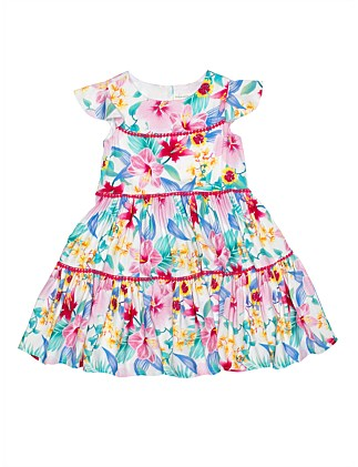 Genevieve Floral Dress (Girls 3-7)