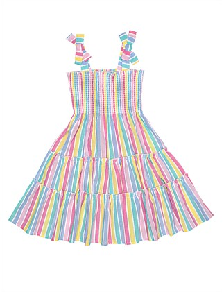 Betty Stripe Dress (Girls 3-7)