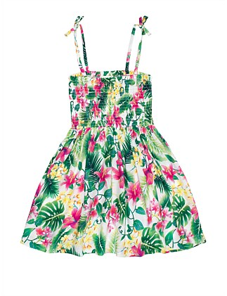 Vilma Shirred Dress (Girls 8-16)
