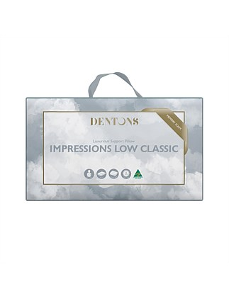 Impressions Low Classic Pillow