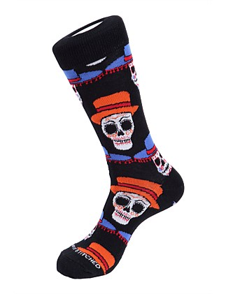 Day of the Dead Sock