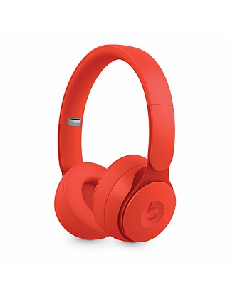 Solo Pro Wireless Noise Cancelling Headphones - Red