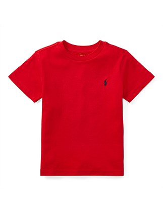 Cotton Jersey Crewneck T-Shirt (2-4 Years)