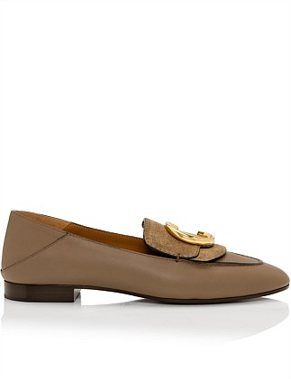 CHLOE C LOAFER WITH SUEDE