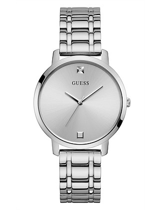 Guess Nova Silver  Dial And Bracelet