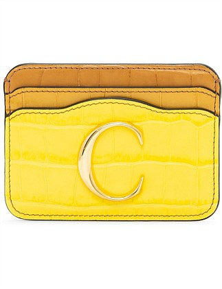 CHLOE C CARD HOLDER