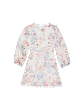 Jordyn Floral Cotton Dress (Girls 3-7)