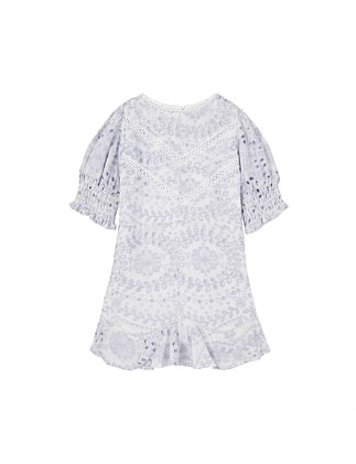 Penelope Embroidered Dress (Girls 8-16)