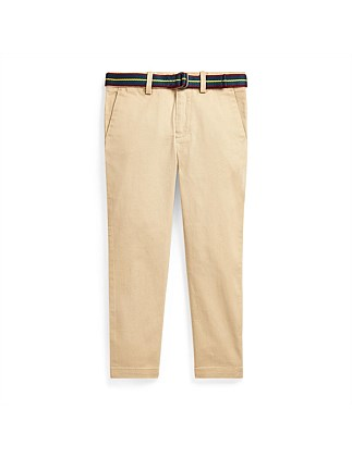 Belted Super Skinny Chino Pant (5-7 Years)