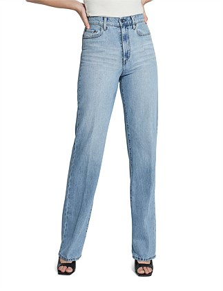 Lou Super High Rise Relaxed Straight Jean