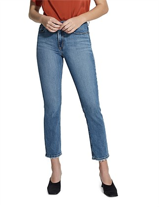 True High Rise Slim Ankle Jean
