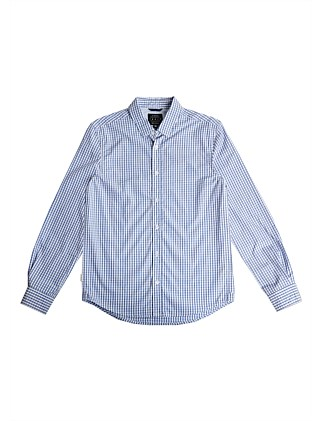 Nev Check Shirt (Boys 3-7 Years)