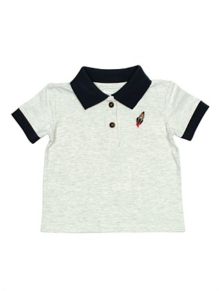 TB COMMET POLO TEE (3M - 2Y)