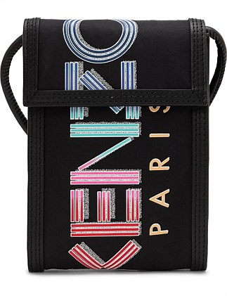 KENZO CREW PHONE HOLDER ON STRAP