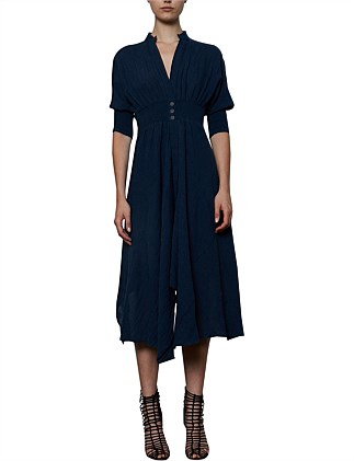 Crush Linen Dress