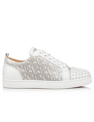 LOUIS JUNIOR SPIKES FLAT CALF/PATENT CL