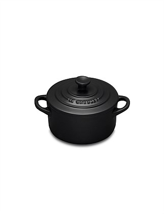 Mini Casserole Satin Black 9cm