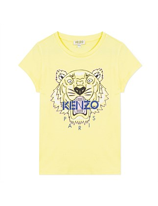 Yellow Tiger Tee (4-6 Years)