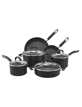 Total 22cm/31cm Non-Stick Frypan Twin Pack