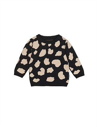 Animal Spot Knit Jumper (Boys 3-8)
