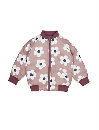 Flower Reversible Bomber (Girls 3-8)