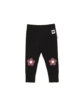 Floral Knee Legging (Girls 3-8)