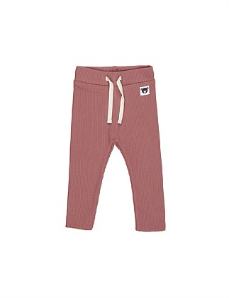 Plum Rib Legging (Girls 3-8)