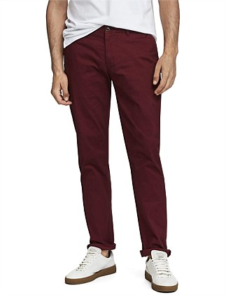 NOS STUART-CLASSIC REGULAR SLIM FIT CHINO