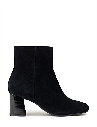 CATHY COMFORT ANKLE BOOT WITH FEATURE HEEL
