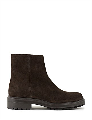 LAURISTON FLAT ANKLE BOOT