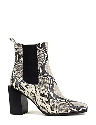 URENA SQUARE TOE ANKLE BOOT