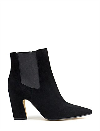 ZENIEL ANGLED HEEL ANKLE BOOT