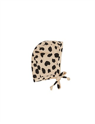 ANIMAL SPOT BONNET (0-6M - 6-12M)
