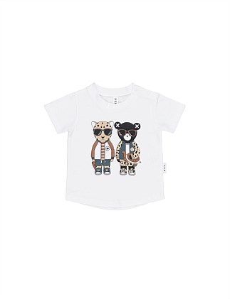 LEOPARD FRIENDS T-SHIRT (0-3M - 3Y)