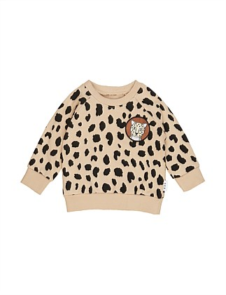 ANIMAL SPOT SWEATSHIRT (0-3M - 3Y)