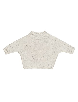 CREAM SPRINKLES JUMPER (3-6M - 2Y)