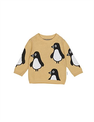 PENGUIN KNIT JUMPER (3-6M - 3Y)
