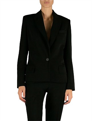 Black Twill Arche Jacket