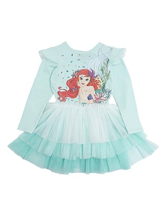 Little Mermaid Tiered Circus Dress (Girls 3-7)